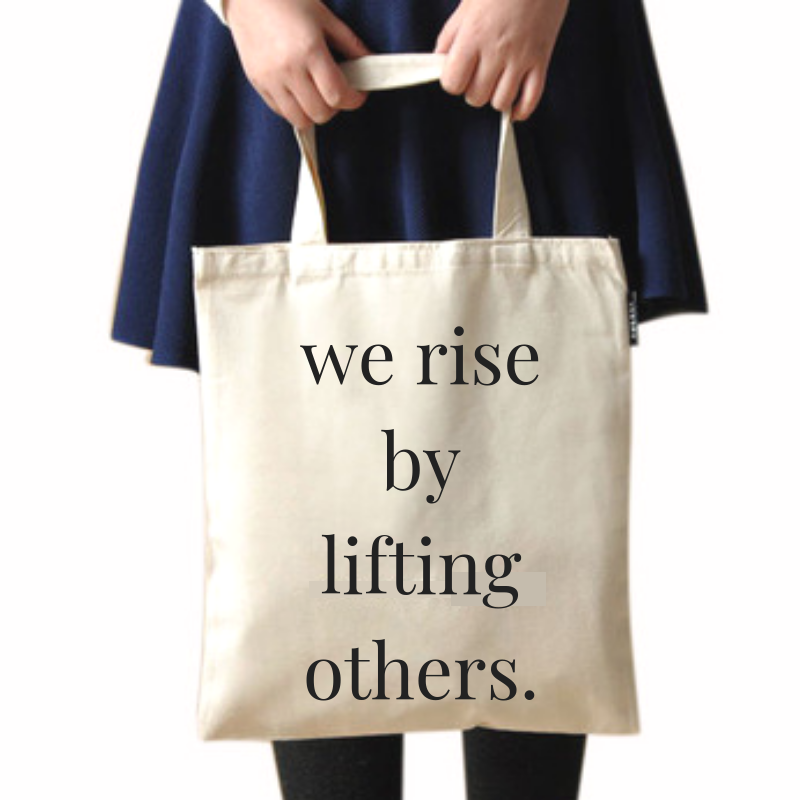 Compliment Tote Bag (2 phrases avail)