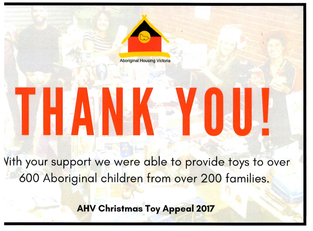 AVH Christmas Toy Appeal 2017