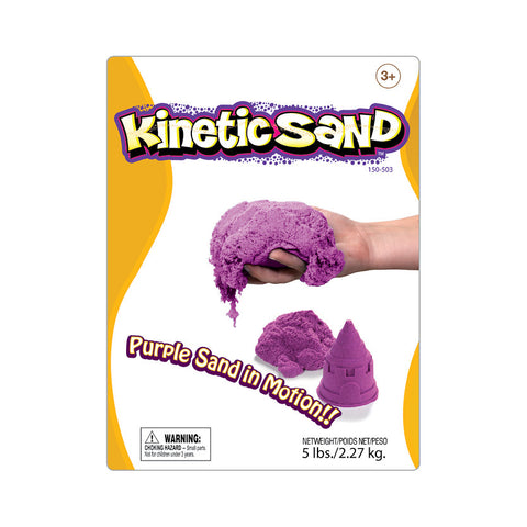 Kinetic Sand 2.27KG Purple