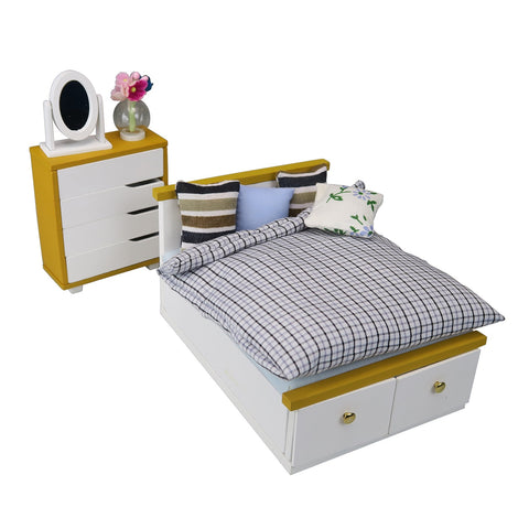NanoRoom - Bed & Chest Set