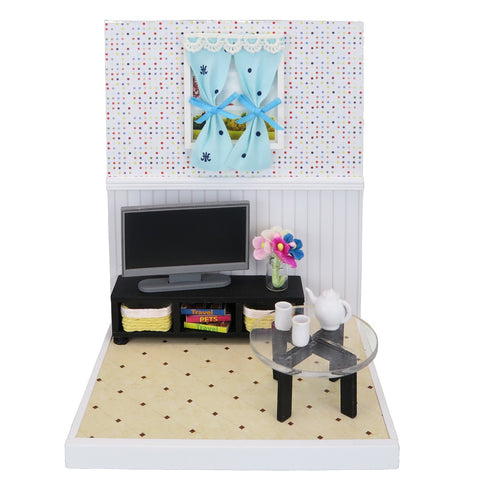 Nano Room Miniature Room cat cafe set NRB-006