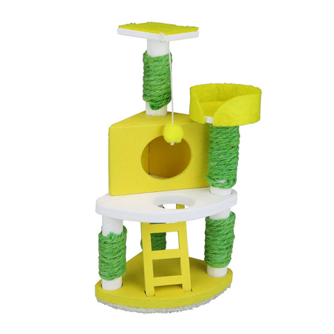 NanoRoom - Cat Tower Yellow