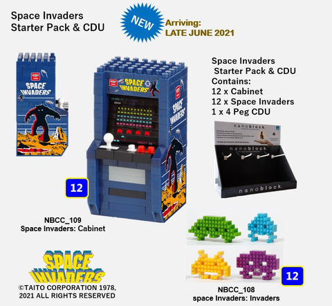 Space Invaders - Starter Pack & CDU - OUT OF STOCK