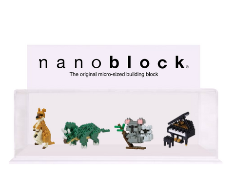 Nanoblock Display Case Small