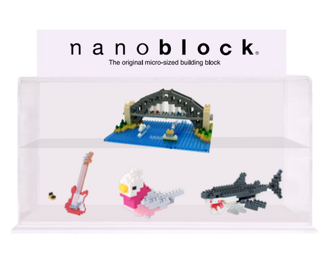 Nanoblock Display Case Medium