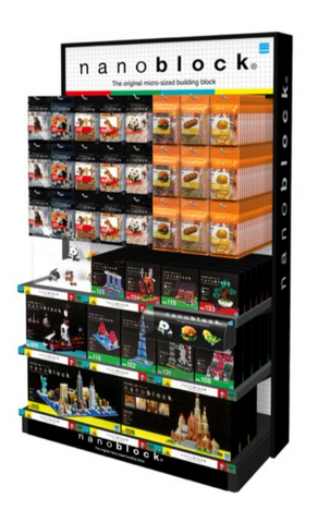 nanoblock Large Retail Stand - OUT OF STOCK