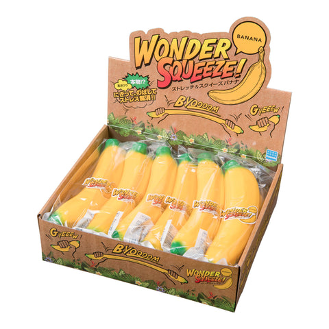 WONDER SQUEEZE! Stretch & Squeeze Banana - OUT OF STOCK