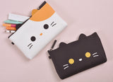 mimi NUU Friends Calico Cat Zipper Pouch