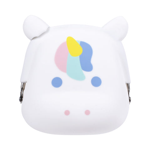 mimi Pochi Unicorn White