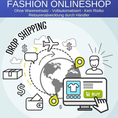 Dropshipping Fashion Onlineshop Vollautomatisiert