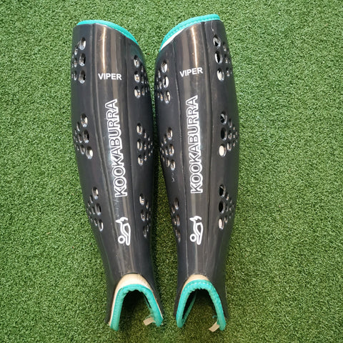 Kookaburra Viper Shin Pads Black - Elite Hockey - Field Hockey Shop Australia