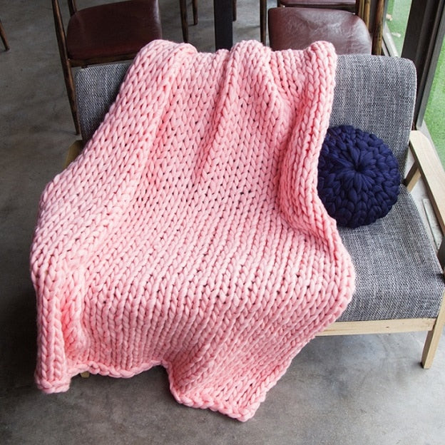Warm knitted blanket-Period Pride