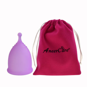 Menstrual cup with storage bag-Period Pride