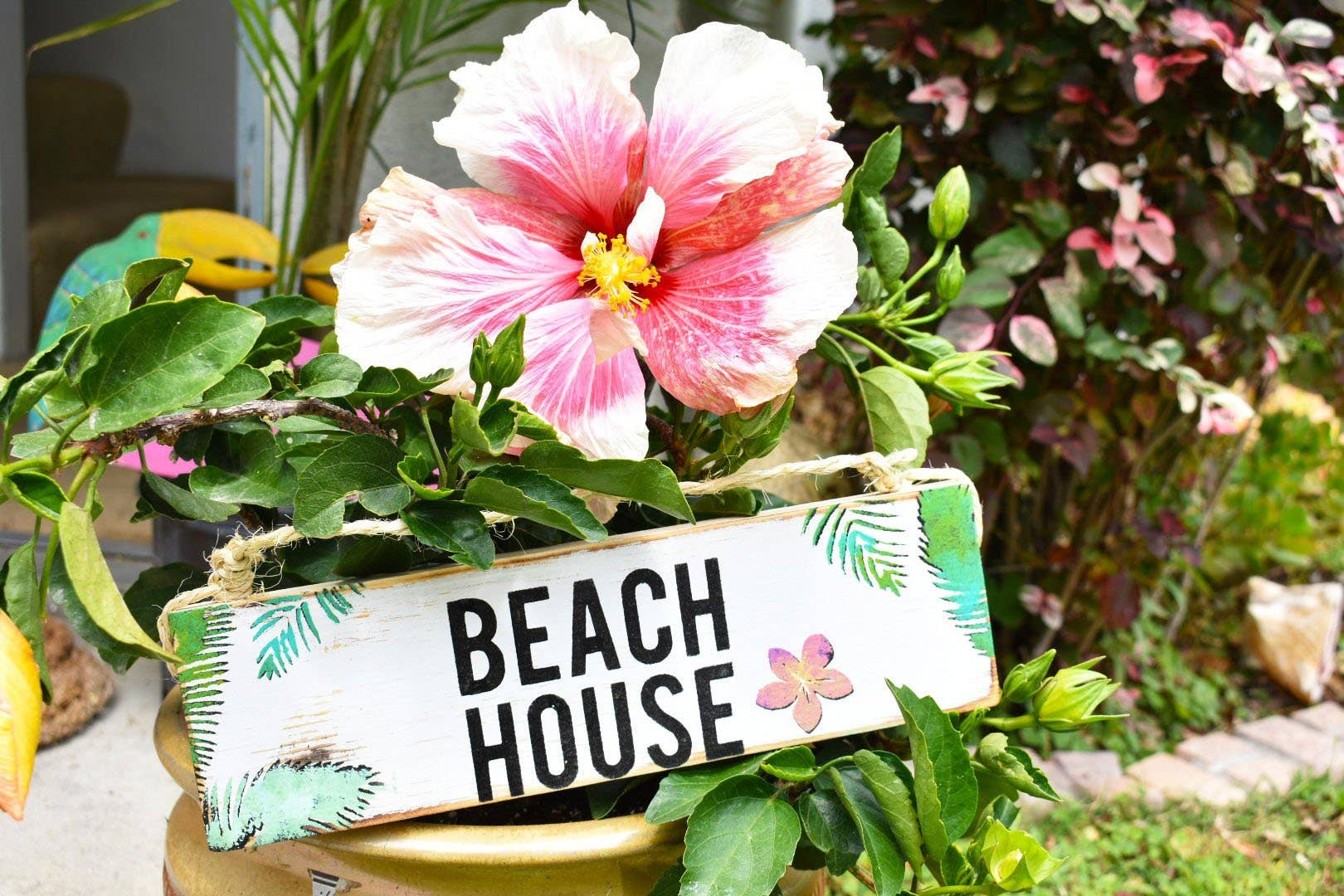 Beach House Sign l Beach Decor l Wood Sign