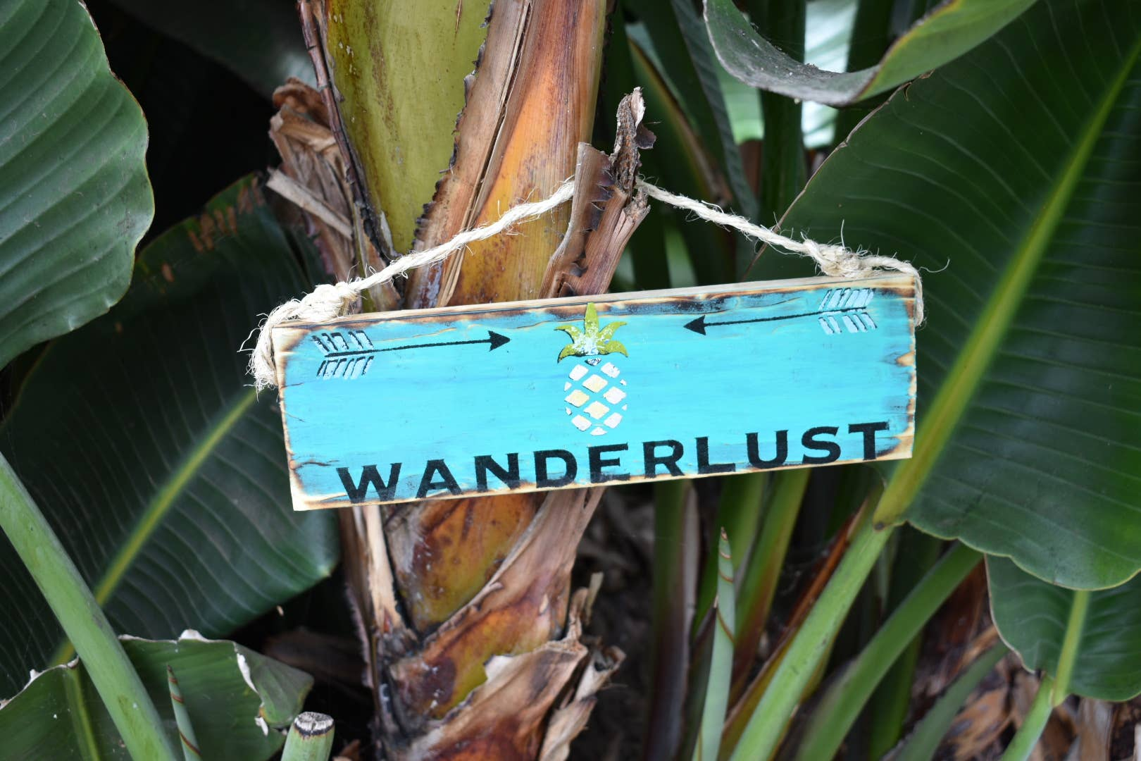 Wanderlust Travel sign - Travel Decor - Wood Sign