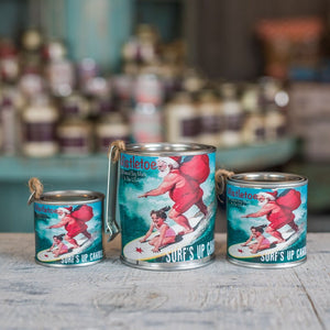 Surfs Up Candle- Paint Can Candle
