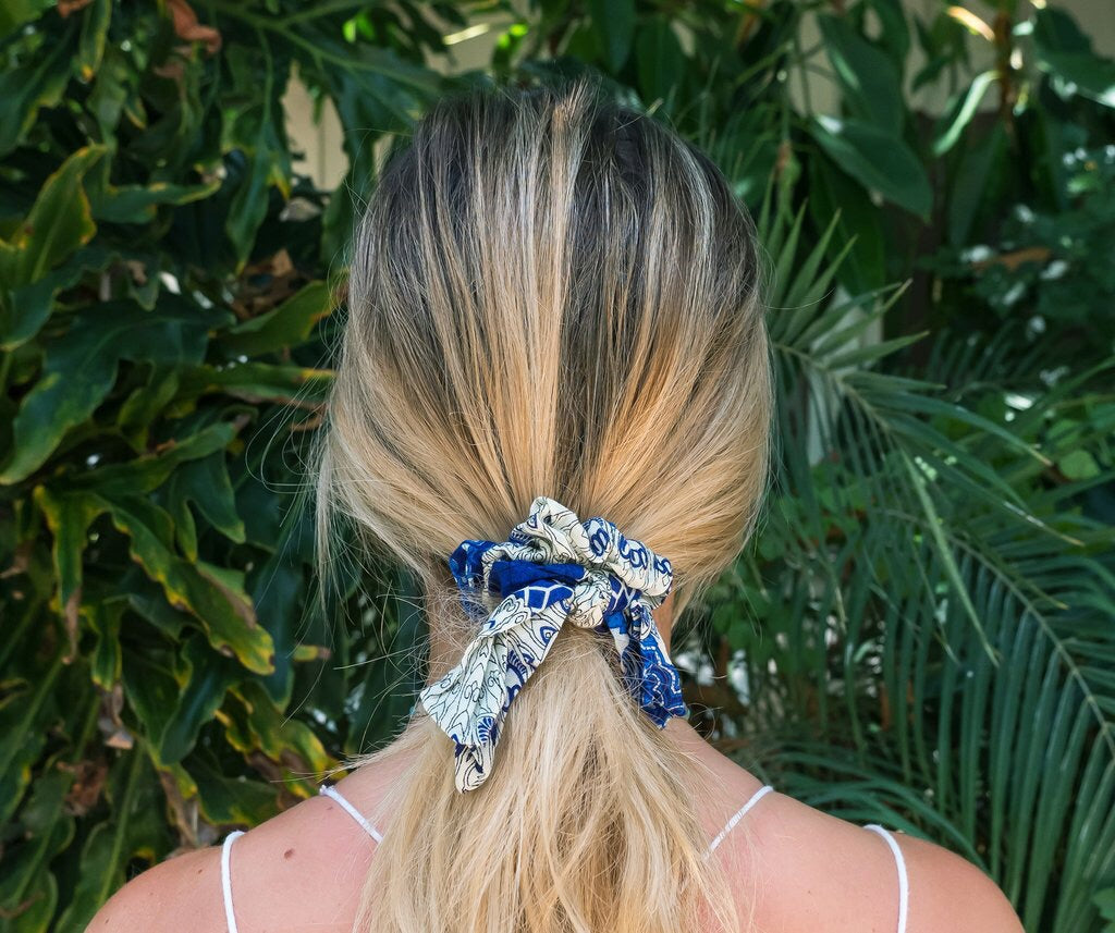 Lotus and Luna Scrunchie