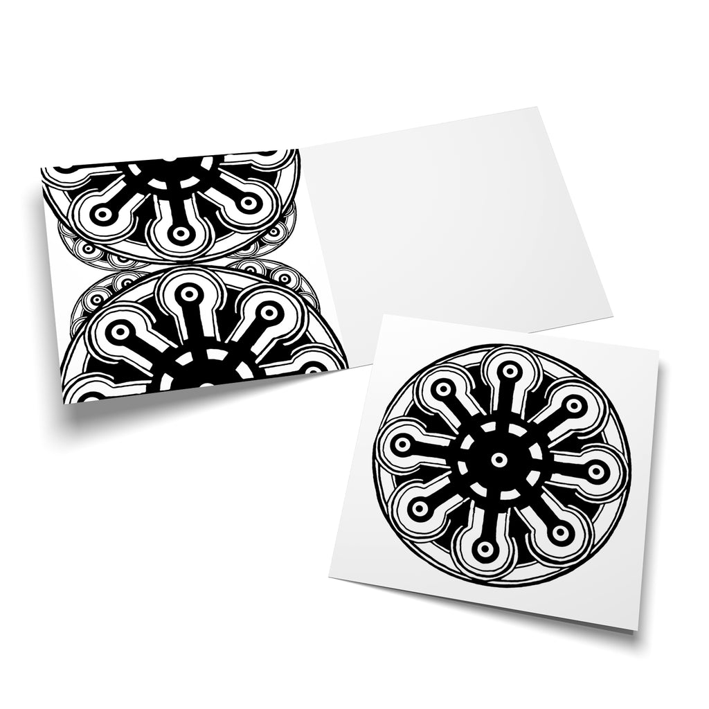 Mandalas multipack a 5 colouring cards