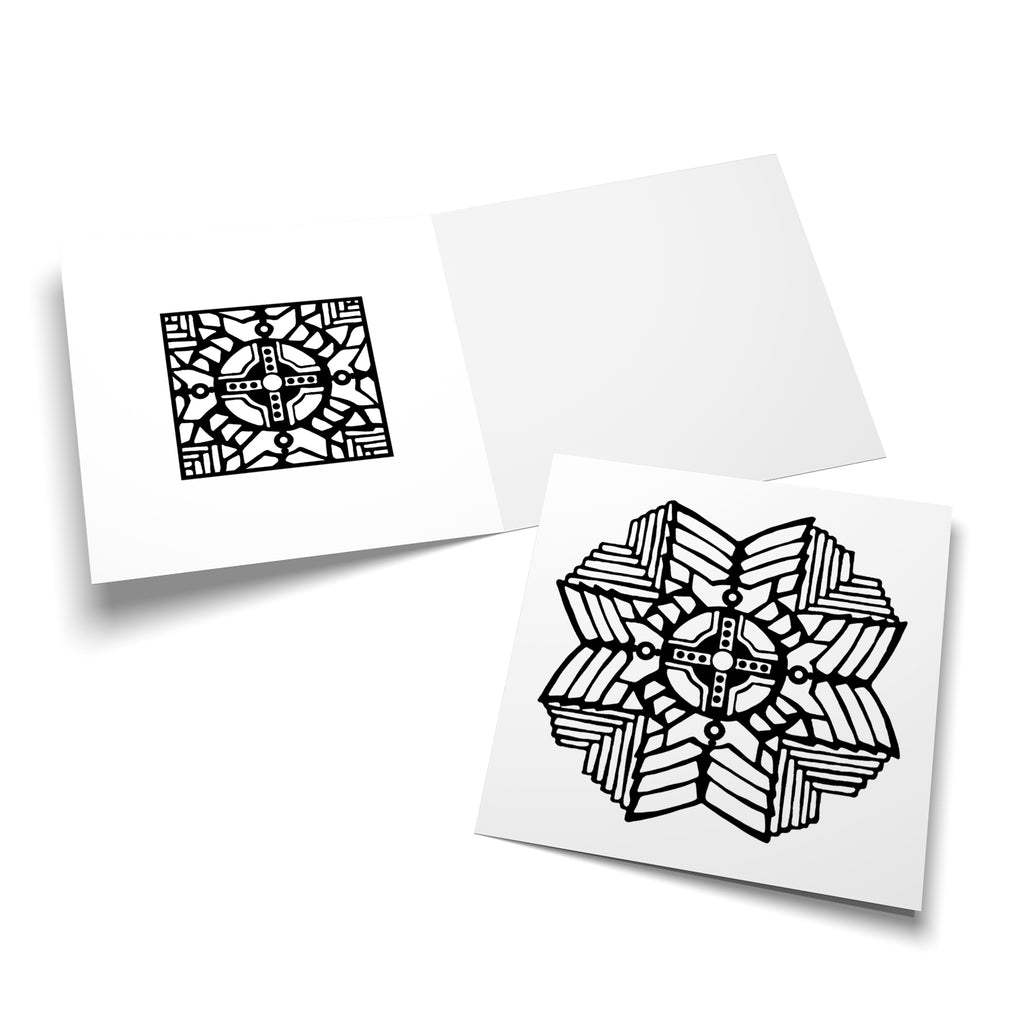 Mandala 04 colouring card