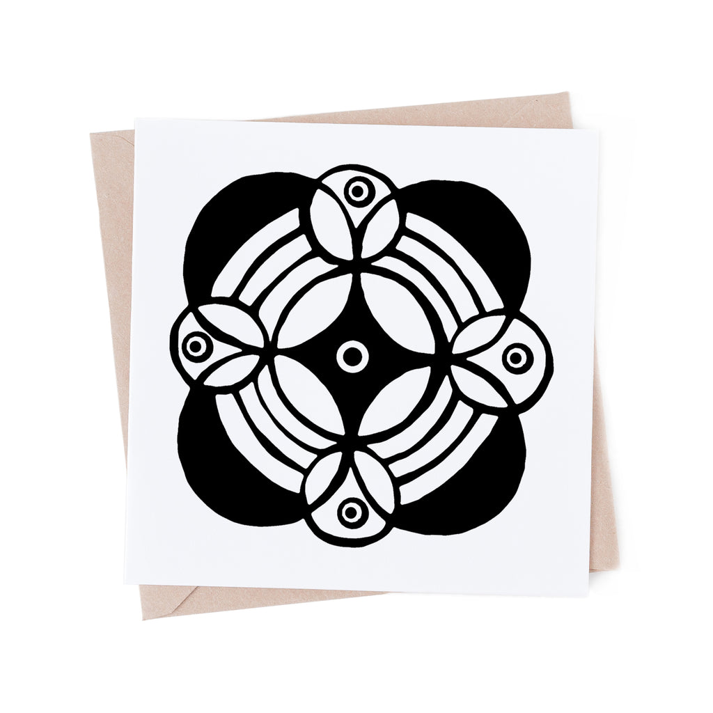 Mandala 05 colouring card