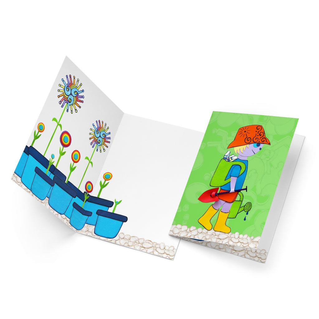 Martin and the Little Wee Seed greeting card