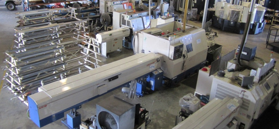 We have some of the most advance CNC machines in the region