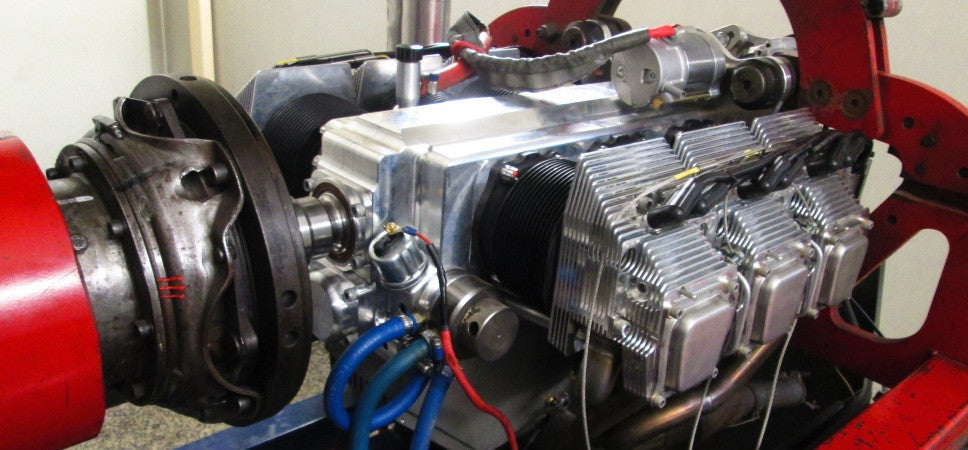 All new engines are run in on the Dyno