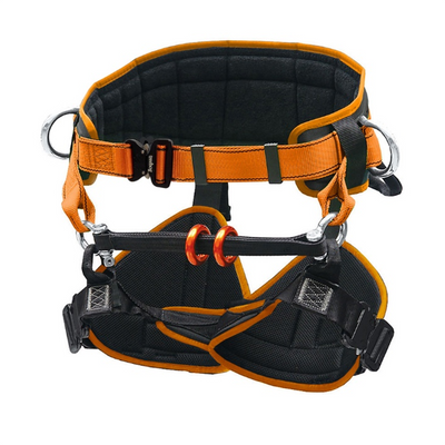 Tree climbing harness