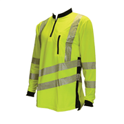 THHV2010 Long Sleeve T-shirt - Hi Vis Yellow