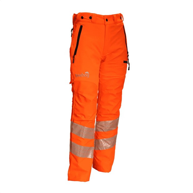 THHV1670 Hi-Vis Orange Chainsaw Trouser Type C Class 1