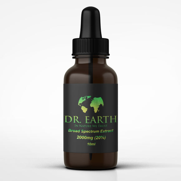 DR. Earth Broad Spectrum CBD Oil 2000mg (20%)