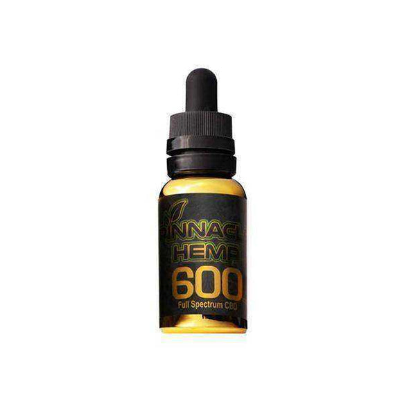 Pinnacle Hemp Full Spectrum Oil 600mg CBD 30ml