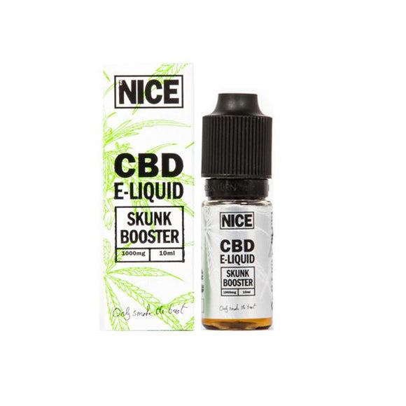 Mr Nice Skunk Booster High 1000mg CBD E-Liquid Shot