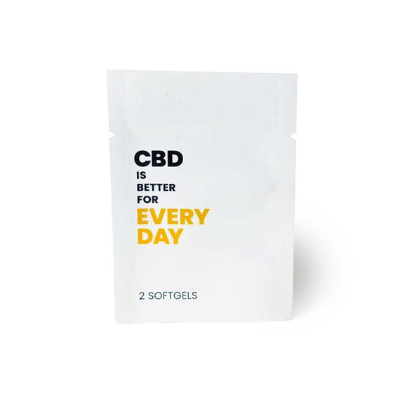 CBD Is Better 25mg CBD Per Softgel - Every Day