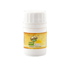 Sun State Hemp 600mg CBD Softgels - 60 Softgels