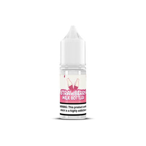 10MG Strawberry Nic Salts by Milk Bottles (50VG-50PG)