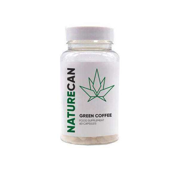 Naturecan 500mg CBD Green Coffee Extract 60 Capsules