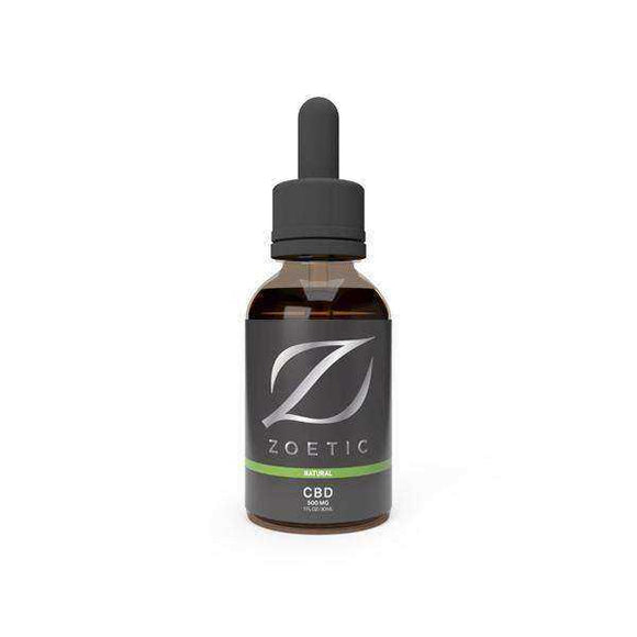 Zoetic 500mg CBD Oil 30ml -  Calming Natural