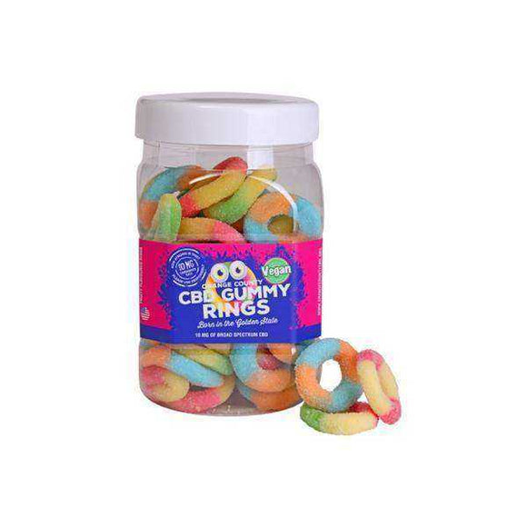 Orange County CBD 25mg Gummy Rings - Large Pack