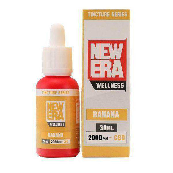 New Era Wellness 2000mg CBD Tincture Series 30ml