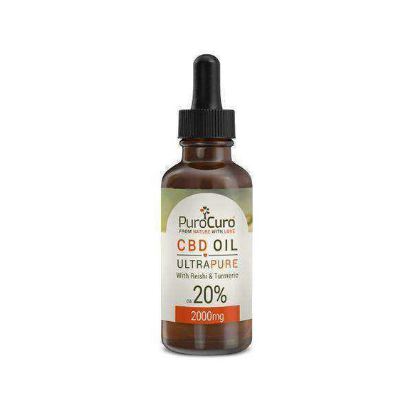 PuroCuro 20% Ultra Pure 2000mg CBD Oil 10ml