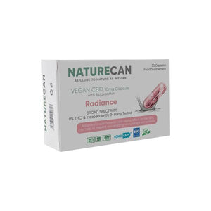 Naturecan 300mg CBD Vegan CBD With Astaxanthin - 30 Caps