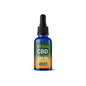 Fly Oil 1000mg CBD Broad Spectrum Tincture Oil 30ml