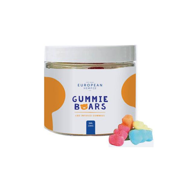 European Hemp Co 10mg CBD Gummy Bears - Small Pack