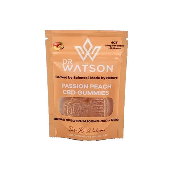Dr Watson 100mg CBD Hemp Gummies Pack of 4