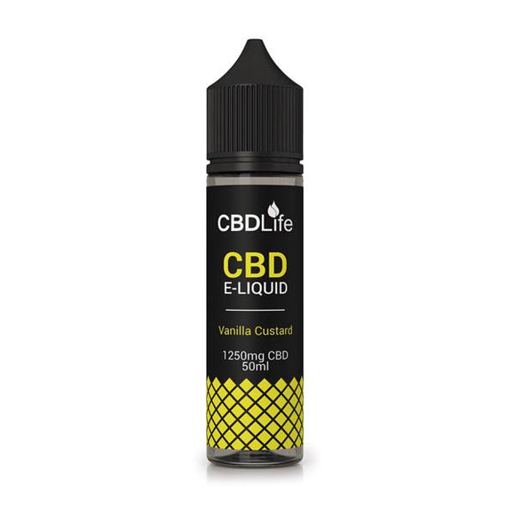 CBDLife 1250mg CBD 50ml E-Liquid (70VG/30PG)