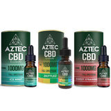 Aztec CBD 1000mg CBD Vaping Liquid 10ml (50PG/50VG)