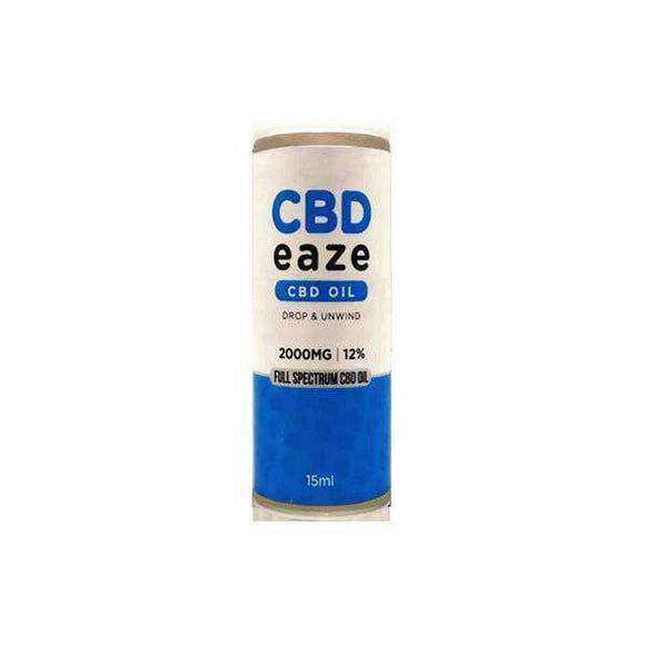 CBD Eaze 2000mg Full Spectrum CBD Oil 15ml - [cannabidiol_online]