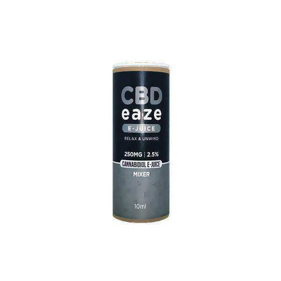 CBD Eaze 250MG CBD 10ml E-Liquid - [cannabidiol_online]