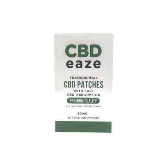 CBD Eaze Trans Dermal 80mg CBD Patches - [cannabidiol_online]